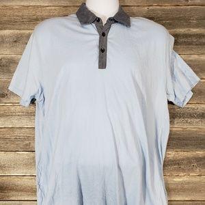 Sean John light blue polo shirt
